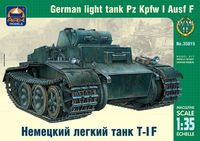 German light tank Pz.Kpfw I Ausf.F