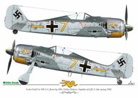 Decals 1:48 Wulf Pack vol.1 - Focke-Wulf Fw 190A