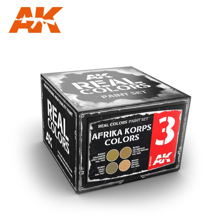 RCS003 Afrika Korps Colors Set - Image 1