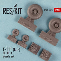 General Dynamics F-111 (E, F) / EF-111A  wheels set - Image 1