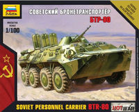 Soviet Personnel Carrier BTR-80 Hot War
