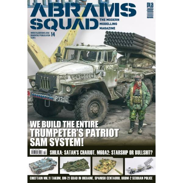 Abrams Squad nr 14 - We Build the entire Trumpeters Patriot SAM System, Shilka: Satans Chariot, M60A2: Starship or Bullshit? - Image 1