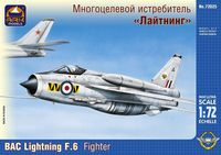 BAC Lightning F.6 British fighter interceptor