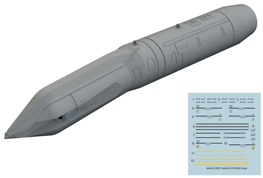 AN/AVQ-10 PAVE Knife - Image 1
