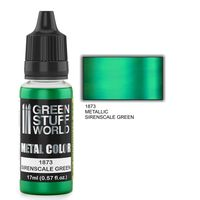 1873 Metal Paint - SIRENSCALE GREEN