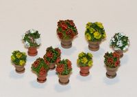 Flowers in flowerpots - Image 1