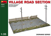 Village road section - Image 1