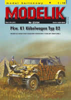 Pkw. K1 Kubelwagen Typ 82 German light car