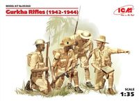 Gurkha Rifles (1944), (4 figures)
