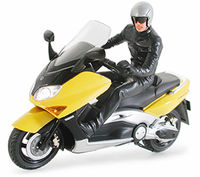 Yamaha TMAX with Rider Figure