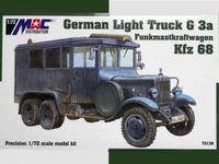 German Light Truck G 3a Funkmastkraftwagen Kfz 68