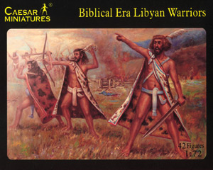 Biblical Era Libyan Warriors - Image 1