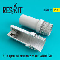 F-15 open exhaust nozzles for TAMIYA Kit - Image 1