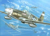North-American P-51B Mustang Ding Hao, USAAF