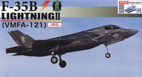 F-35B Lightning II (VMFA-121) Special Edition (w/Painted Pedestal) - Image 1