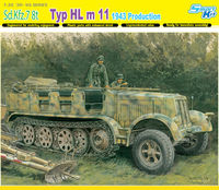 Sd.Kfz.7 8(t) Typ HL m 11 1943 Production - Smart Kit