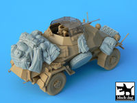 Sd.Kfz. 222 & 223 accessories set for Tamiya kits, 12 resin parts - Image 1