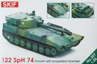 Finish Self-propelled howitzer SpH 74 (122mm)