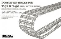 DOUBLE-PIN TRACKS FOR T-72 & T-90 MAIN BATTLE TANKS - Image 1