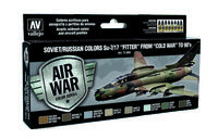 71604 Air War Color Series - Soviet/Russian colors Su-7/17 Fitter from Cold War to 90s