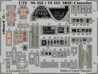 SB2C-4 interior S.A. CYBER HOBBY