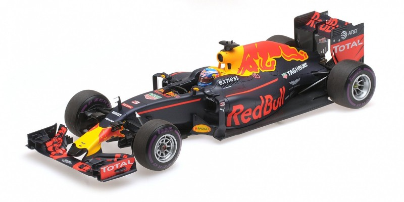 Red Bull Racing TAG-Heuer RB12 #3 Daniel Ricciardo 1st Pole Position Monaco GP 2016 - Image 1