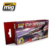A.MIG 7130 STAR DEFENDERS SCI-FI COLORS Set