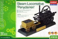 Steam Locomotive Penydarren Education Model Kit