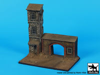 House with gate base (150x90 mm) - Image 1