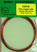 Fine copper wire Diameter: 0.55, 0.60 - Image 1