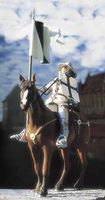 Teutonic Knight Mounted Ca.1410
