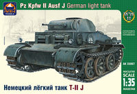 German light tank Pz.Kpfw.II Ausf.J