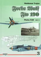 Focke Wulf FW 190 Photo/CAD vol.1 nr 3 - Waldemar Trojca