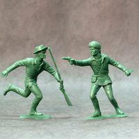American scouts, set of two figures #3