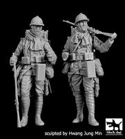 French soldiers WWI set