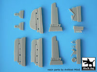 Focke-Wulf FW 190 A detail set for Eduard 1/48, 13 resin parts
