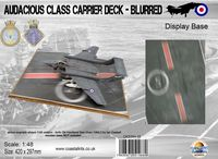 Audacious Class Carrier Deck - Blurred 420 x 297mm