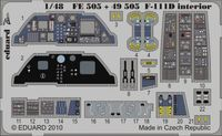 F-111D interior S.A. HOBBY BOSS - Image 1