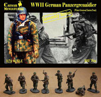 German Panzergrenaidier Winter Greatcoat Eastern Front (ASSEMBLY SERIES) - Image 1