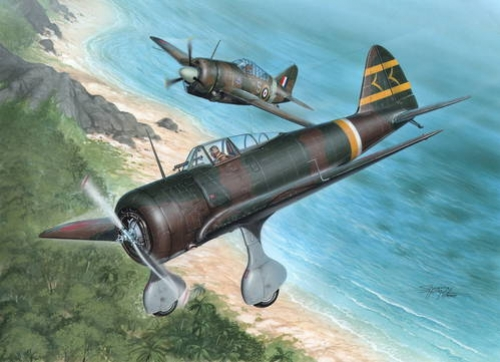 Ki-27-Otsu Nate Over Malaya and Philippines  Hi-Tech - Image 1