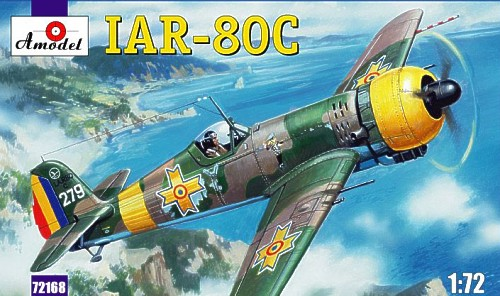 Romanian IIWW fighter IAR-80C - Image 1