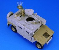 IDF Uparmored Humvee Con'set (For Academy) Inc'PE Parts - Image 1