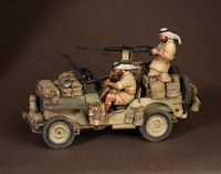 Crew of the Jeep SAS. North Africa.1941-42 #1 2 figures - Image 1