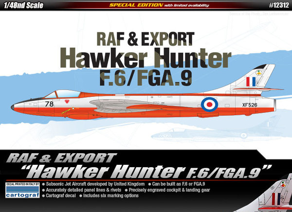 """Hawker Hunter"" F.6/FGA.9 - Image 1"