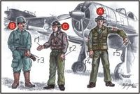 Japan.Army Pilots+Mechanics WW II - Image 1