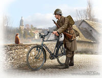 French soldier, WWII era - Image 1