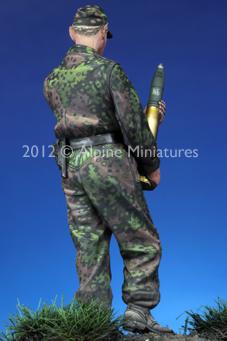 échelle 1:35 WSS panzer officer at Kursk #2 Alpine Miniatures 35233