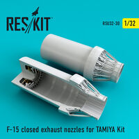 F-15 closed exhaust nozzles for  TAMIYA Kit - Image 1