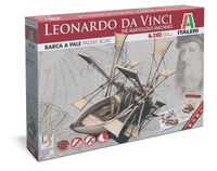 Leonardo Da Vinci marvellous machine-Paddle ship