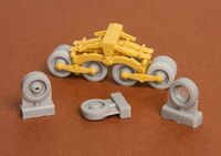 40/43M Zrinyi assault gun roadwheels - Image 1